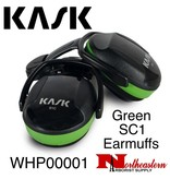 KASK Green SC1 Earmuffs for Low to Medium Noise Level