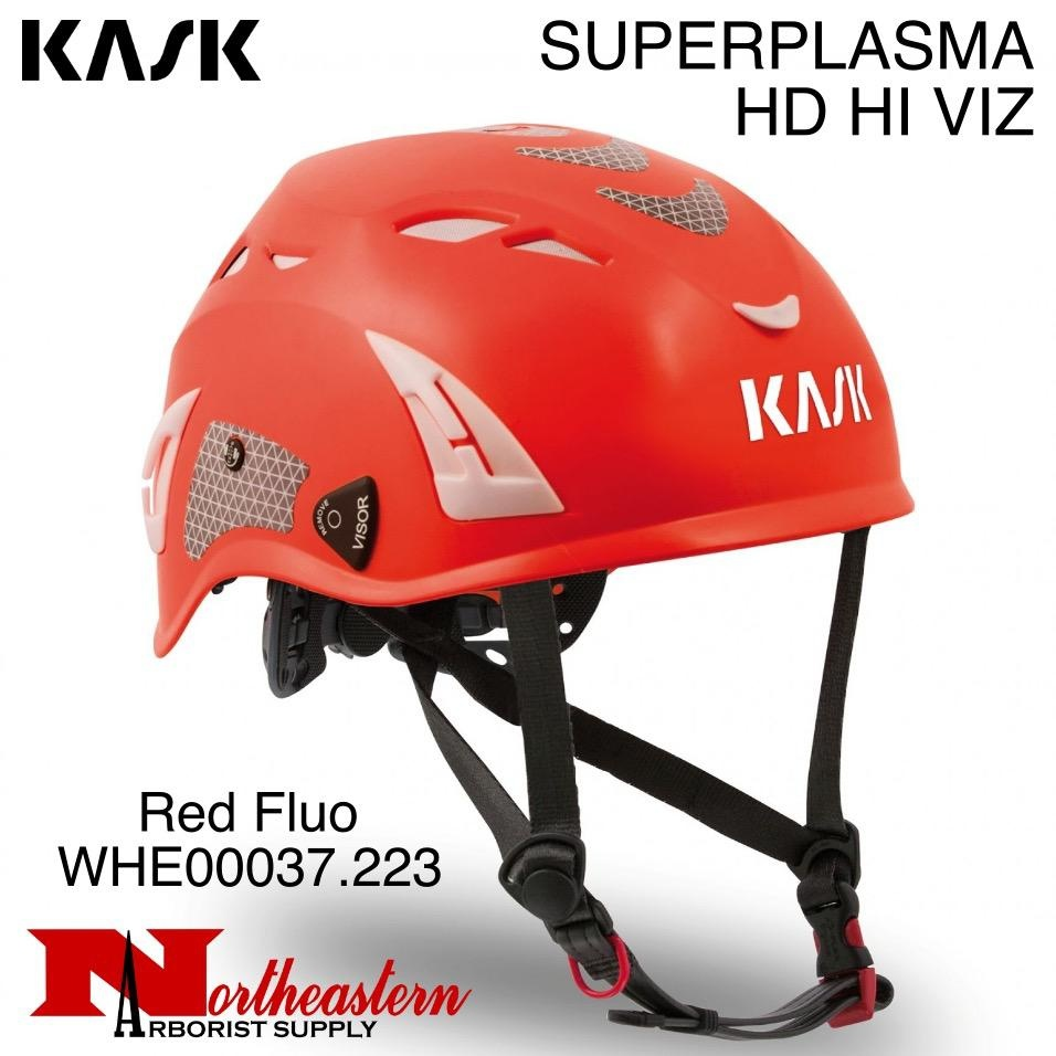 KASK SUPERPLASMA HI VIZ Helmets, Ventilated with chinstrap