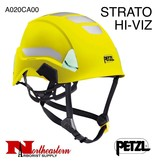 Petzl STRATO HI-VIZ Lightweight high-visibility Helmets, Unvented