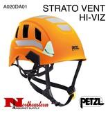 Petzl STRATO VENT HI-VIZ Lightweight high-visibility Helmets, Ventilated