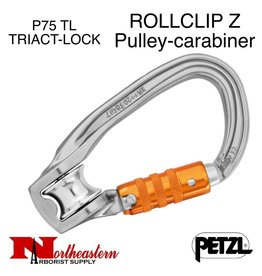Petzl Carabiner, ROLLCLIP Z Pulley-carabiner TRIACT-LOCK, 20kN Max.