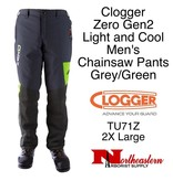 """Clogger """"Zero"""" Gen2, Light and Cool Men's Chainsaw Pants"""