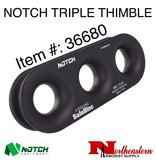 NOTCH Safebloc, Triple Hole Thimble Only, No Sling Included