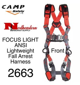 CAMP SAFETY FOCUS LIGHT ANSI lightweight fall arrest harness