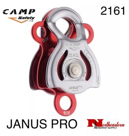 CAMP SAFETY Janus Pro a High-strength, Multifunctional Double Pulley