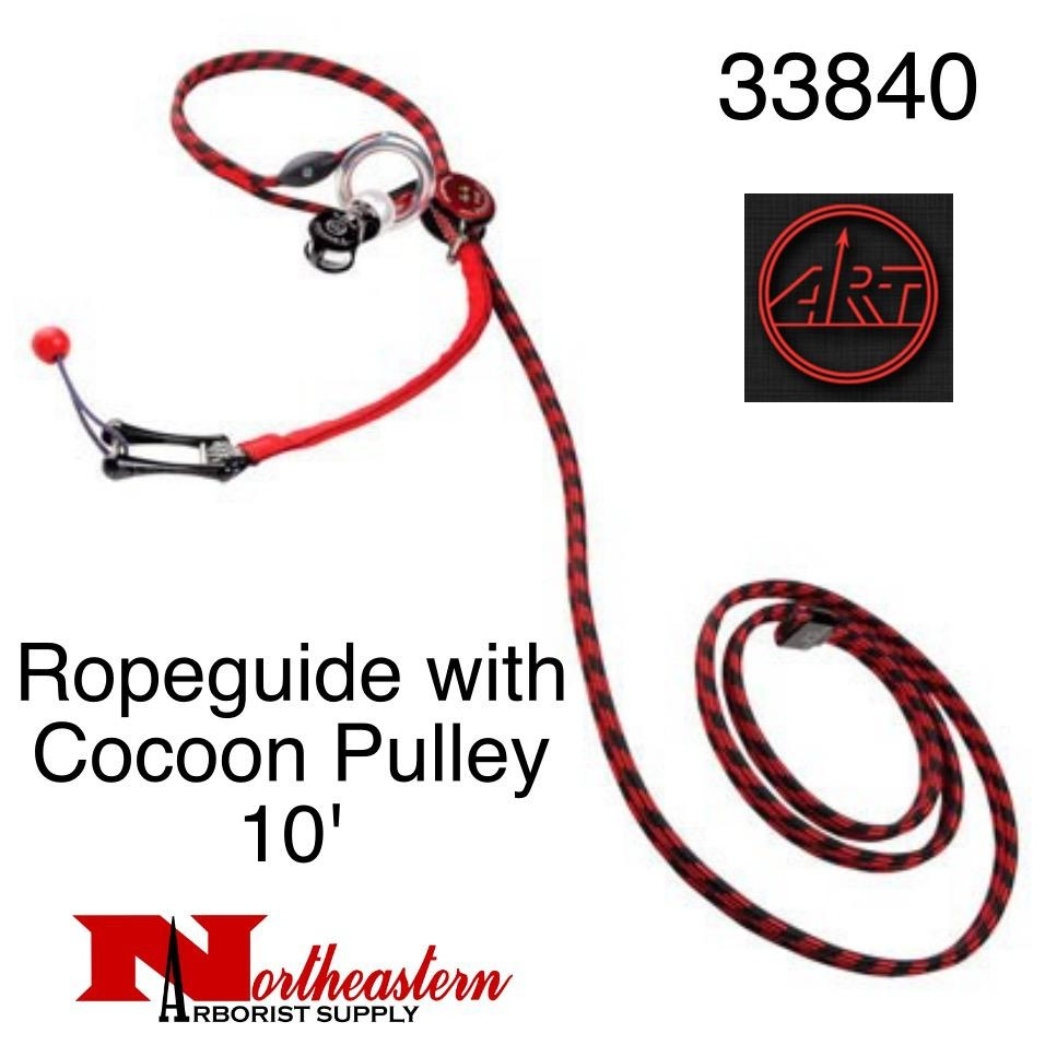 A.R.T. Ropeguide with Cocoon Pulley 10' Webbing