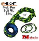 """All Gear Inc. Multi Pro Soft Rig Sling 7/8"""" x 10' 12-Strand Polyester"""