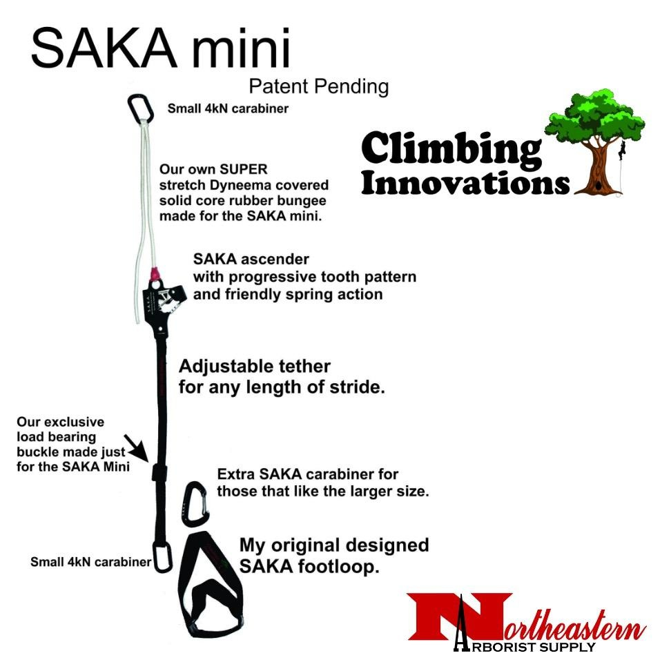 Climbing Innovations SAKA MINI, Self Advancing Knee Ascender