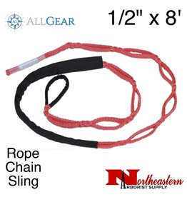 "All Gear Inc. Rope Chain Sling 1/2"" x 8'"