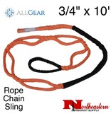 """All Gear Inc. Rope Chain Sling 3/4"""" x 10'"""
