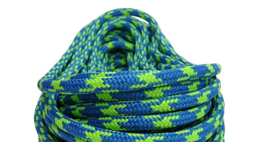 "All Gear Inc. Blue Craze™ 7/16"" x 150' with One Eye, 24-Strand Braided Polyester"