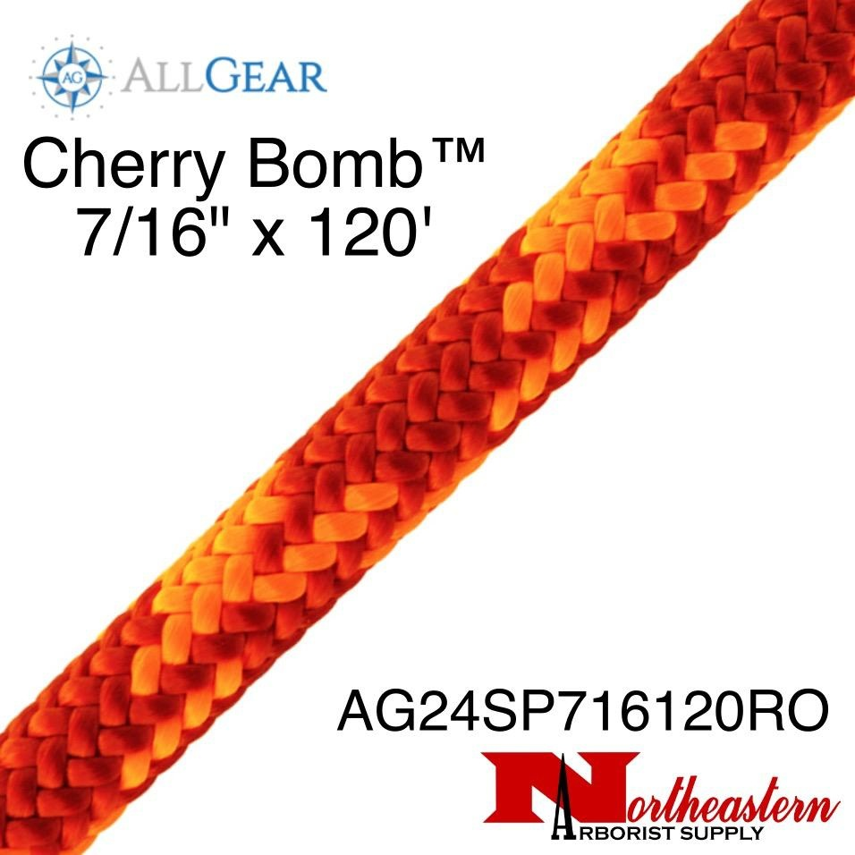 "All Gear Inc. Cherry Bomb™  7/16"" x 120' 7,000lbs ABS"