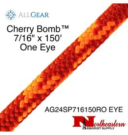 "All Gear Inc. Cherry Bomb™ 7/16"" x 150' With Eye 7,000lbs ABS"