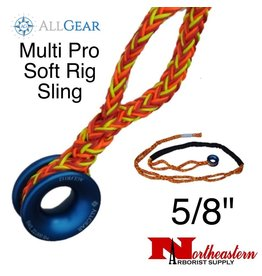 "All Gear Inc. Multi Pro Soft Rig Sling 5/8"" x 10' 12-Strand Polyester"