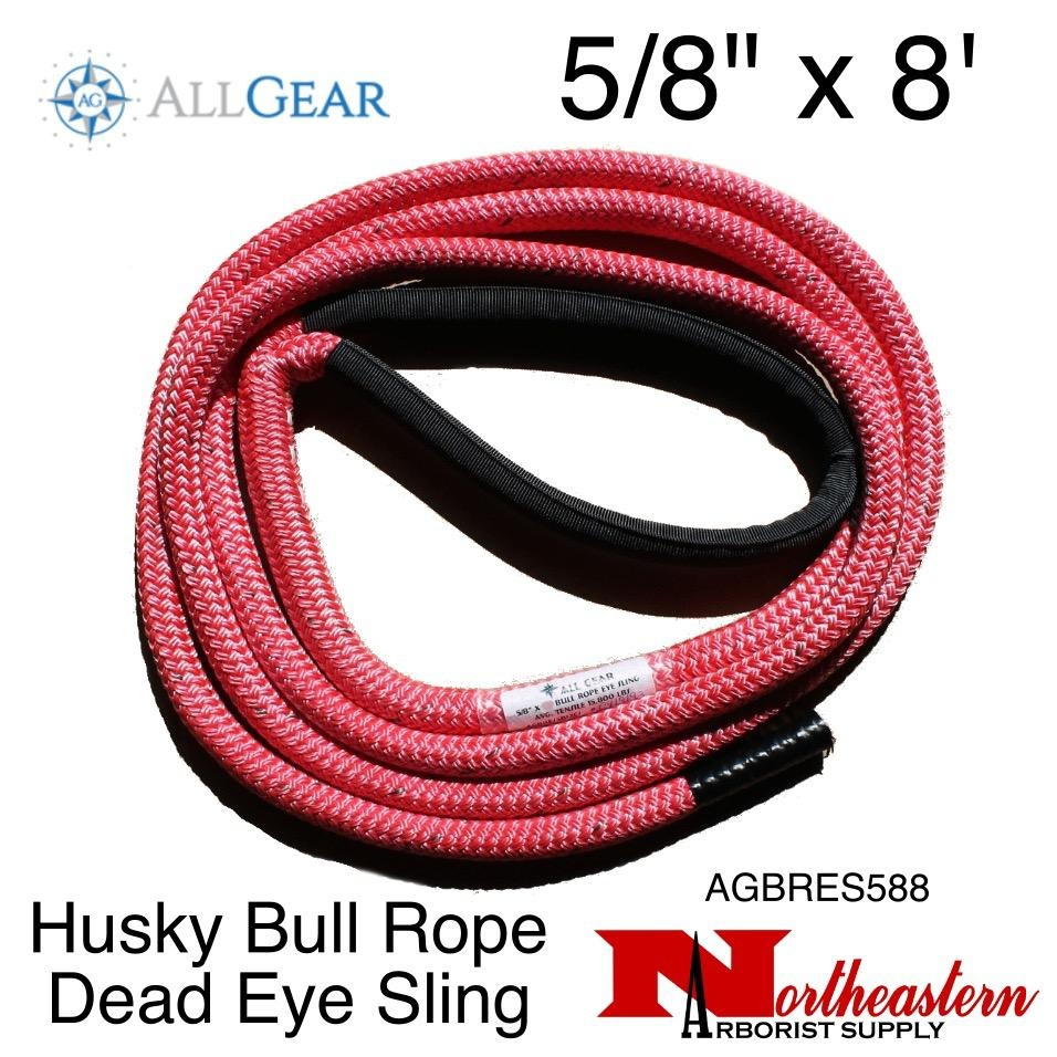 "All Gear Inc. Husky Bull Rope™ Dead Eye Sling 5/8"" x 8'"