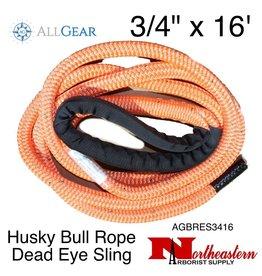 "All Gear Inc. Husky Bull Rope™ Dead Eye Sling 3/4"" x 16'"