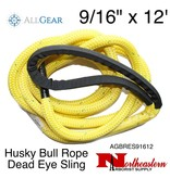 "All Gear Inc. Husky Bull Rope™ Dead Eye Sling 9/16"" x 12'"