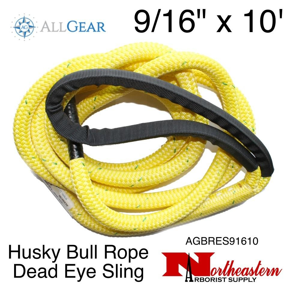 "All Gear Inc. Husky Bull Rope™ Dead Eye Sling 9/16"" x 10'"