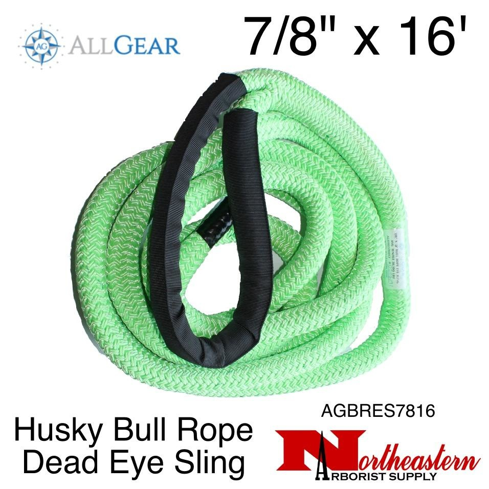 "All Gear Inc. Husky Bull Rope™ Dead Eye Sling 7/8"" x 16'"