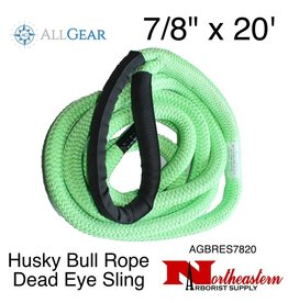 "All Gear Inc. Husky Bull Rope™ Dead Eye Sling 7/8"" x 20'"