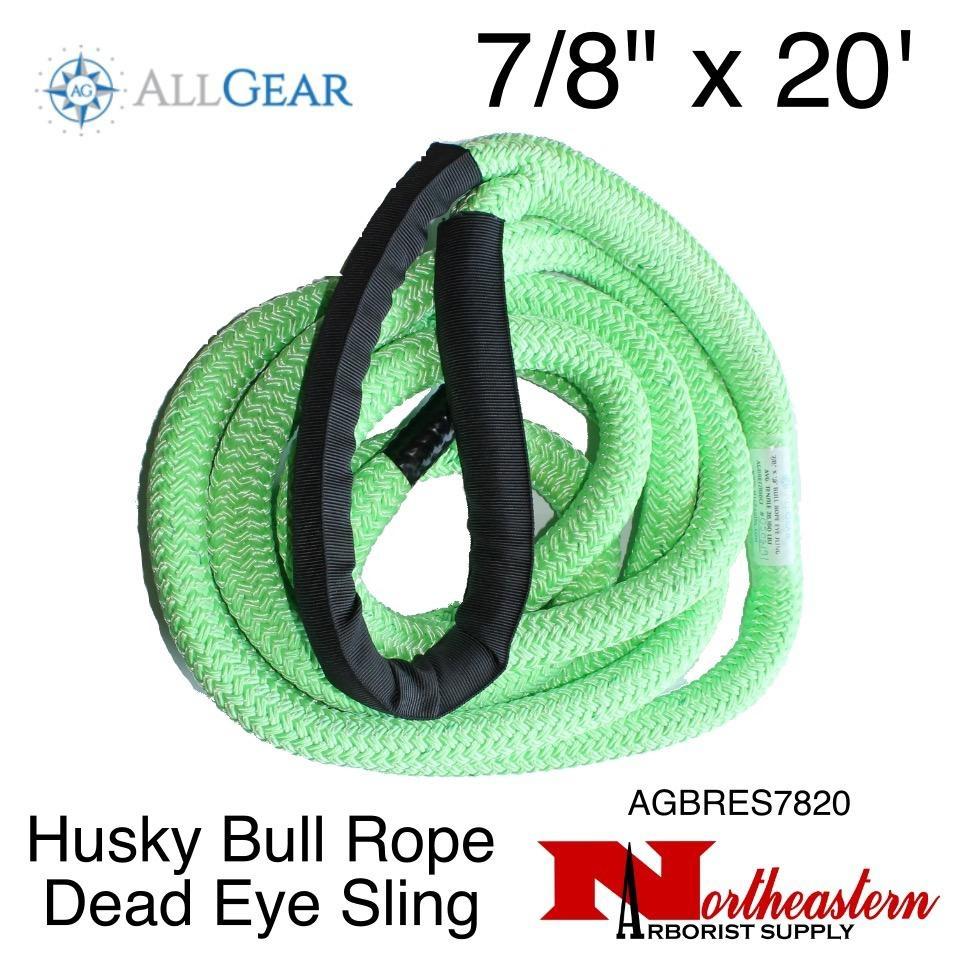 "All Gear Inc. Husky Bull Rope™ Dead Eye Sling 7/8"" x 20'"