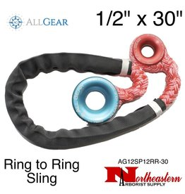 "All Gear Inc. Ring to Ring Sling 1/2"" x 30"" 11,000 lbs ABS"