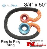 "All Gear Inc. Ring to Ring Sling 3/4"" x 50"" 21,000 lbs ABS"