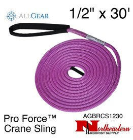 "All Gear Inc. Pro Force™ Crane Sling 1/2"" x 30' 19,500 lbs. ABS"