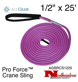 """All Gear Inc. Pro Force™ Crane Sling (Dead Eye) 1/2"""" x 25' 19,500 lbs. ABS"""