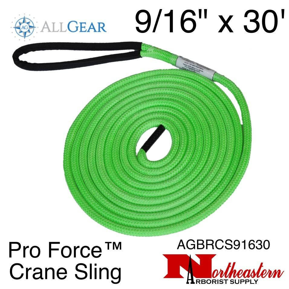 "All Gear Inc. Pro Force™ Crane Sling 9/16"" x 30' 23,500 lbs. ABS"