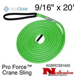 "All Gear Inc. Pro Force™ Crane Sling 9/16"" x 20' 23,500 lbs. ABS"