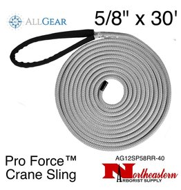 "All Gear Inc. Pro Force™ Crane Sling (Dead Eye) 5/8"" x 30' 34,000 lbs. ABS"