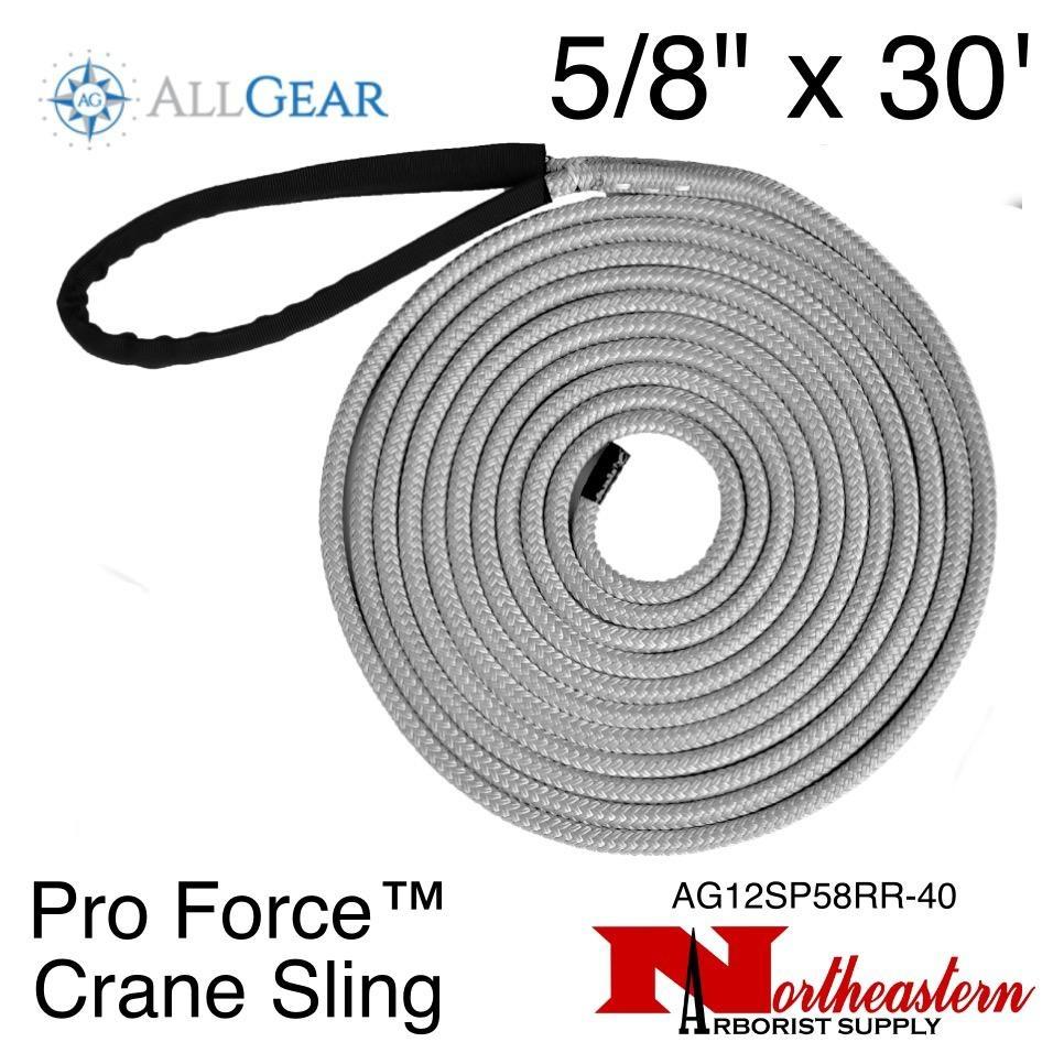 "All Gear Inc. Pro Force™ Crane Sling 5/8"" x 30' 34,000 lbs. ABS"