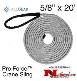 """All Gear Inc. Pro Force™ Crane Sling (Dead Eye) 5/8"""" x 20' 34,000 lbs. ABS"""