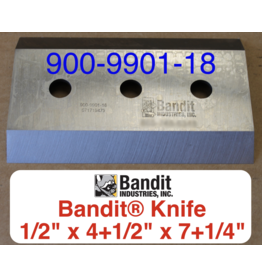 "Bandit® Parts Knife 5/8"" Bolt Hole x 1/2"" Thick x 7+1/4"" x 4+1/2"" - 900-9901-18"