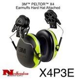 3M PELTOR X Series X4 Helmet Mount Earmuff Assembly 3M