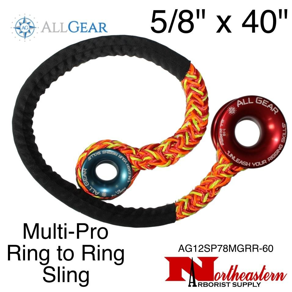 """All Gear Inc. Multi-Pro™ Ring to Ring Sling 5/8"""" x 40"""""""