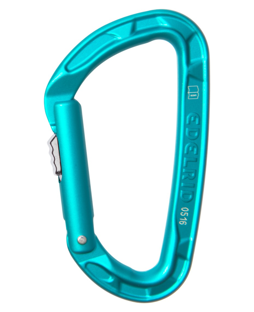 EDELRID Carabiner Pure Slider, Color; Icemint