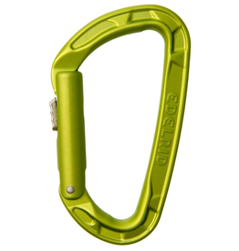 EDELRID Carabiner Pure Slider, Color; Green Oasis