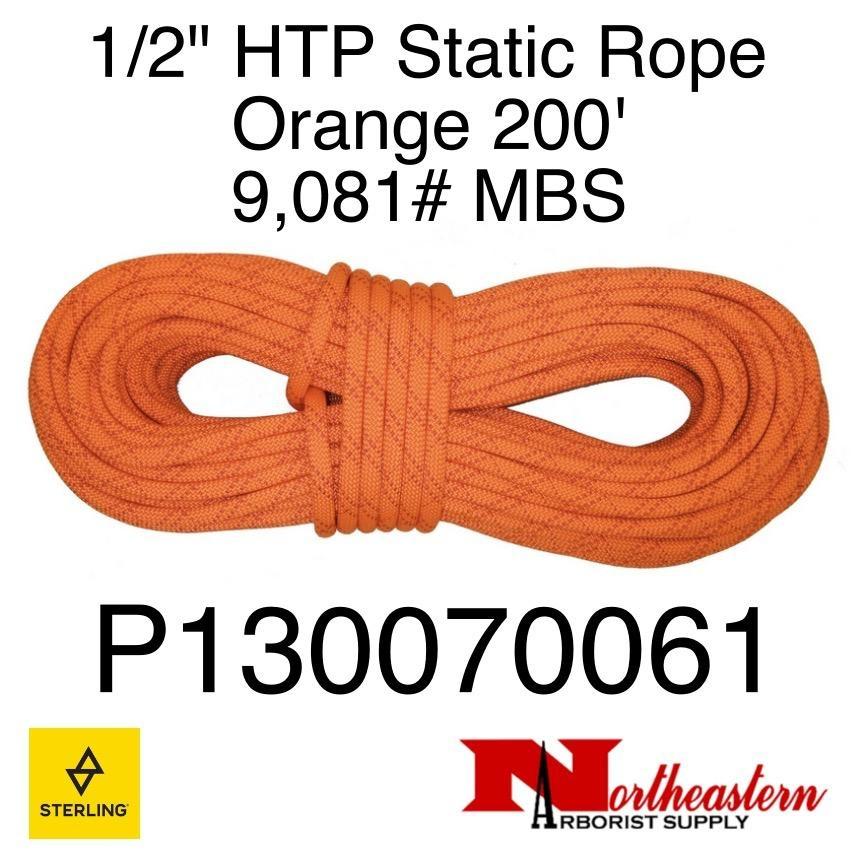 """Sterling 1/2"""" HTP Static Orange 9,081# MBS"""