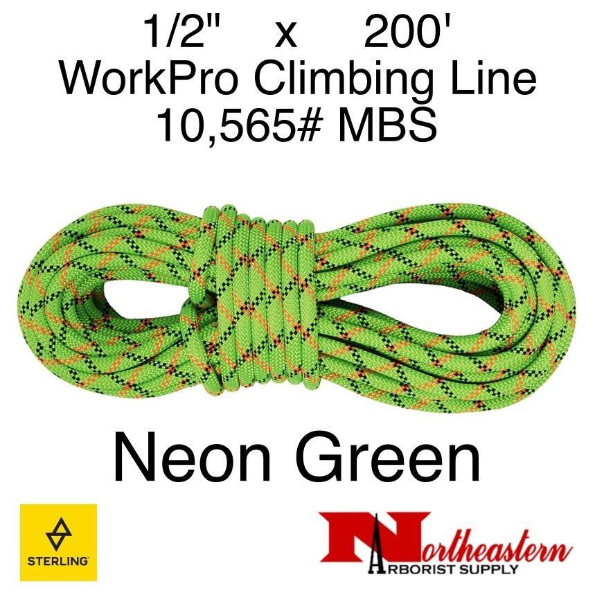 "Sterling 1/2"" WorkPro Neon Green"