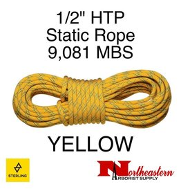 "Sterling 1/2"" HTP Static Yellow 9,081# MBS"