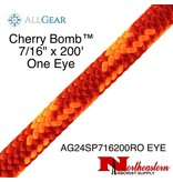 "All Gear Inc. Cherry Bomb™ 7/16"" x 200' With Eye 7,000lbs ABS"
