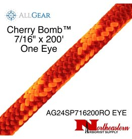 "All Gear Inc. Cherry Bomb™ 7/16"" x 200' with Eye 7,000lbs ABS"