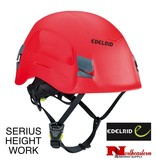 EDELRID Serius Height Work Helmet, Red