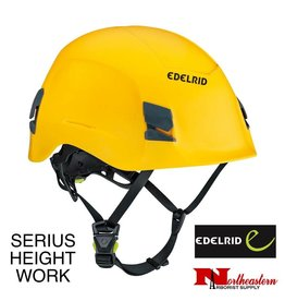 EDELRID Serius Height Work Helmet, Yellow