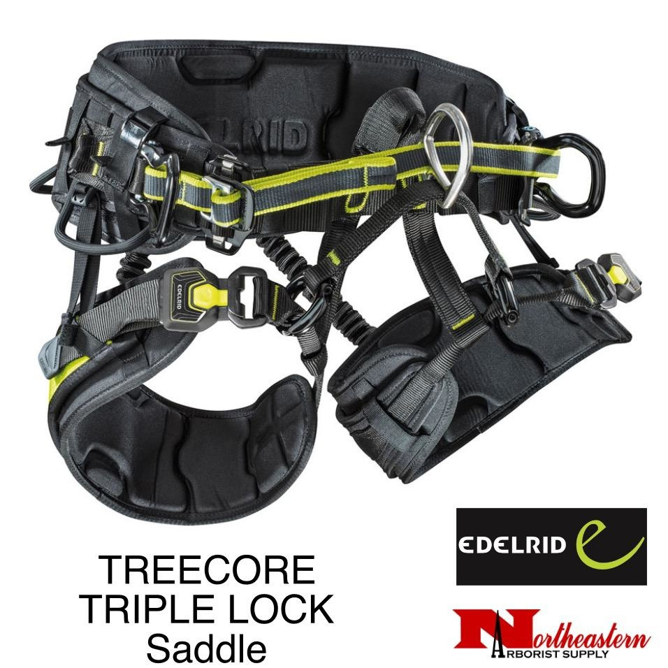 EDELRID TREECORE TRIPLE LOCK Saddle S-XL