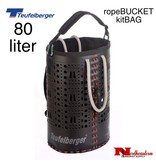 Teufelberger ropeBUCKET 80 liter, biggest of the bags, with a storage volume of 80 liters