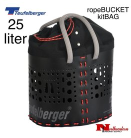 Teufelberger kitBAG 25 liters will fit into any of the 30, 50 and 80 liter bags.