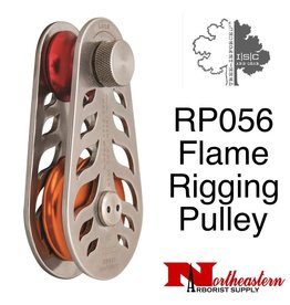 "ISC Block, Flame Rigging Pulley- for 5/8"" Rope, 22,480lbs. MBS"